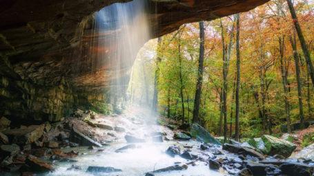 ozark national forest glory hole falls i