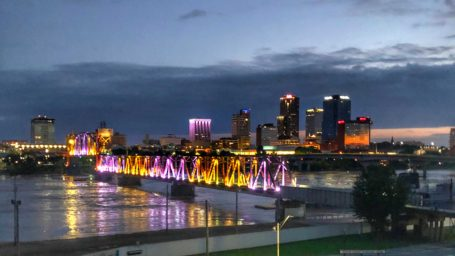 Little Rock, Arkansas sky line